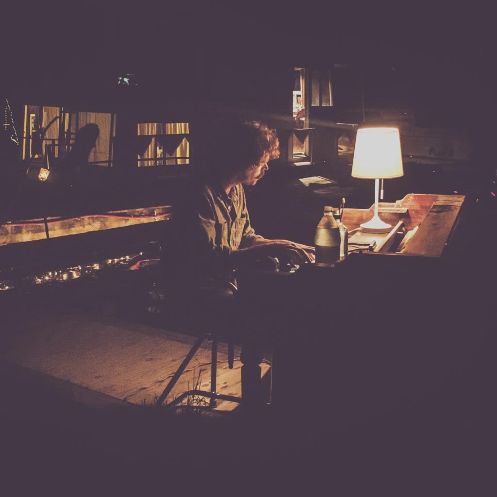 Photo of Sam Doores at the Piano